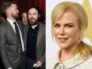 Nicole Kidman, Matt Damon, Justin Timberlake and Casey Affleck at the 89th Annual Academy Awards Nominee Luncheon at The Beverly Hilton Hotel on February 6, 2017 in Beverly Hills, California. Picture: AP/Getty