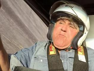 Jay Leno's terrifying car crash caught on camera