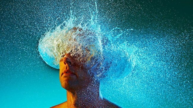 'Water wig' photos wow: captured by photographer Tim Tadder.