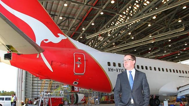 Job fears ... employees will have the opportunity to raise their concerns with Qantas chiefs after CEO Alan Joyce's announcement.
