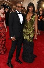 """Lee Daniels and Naomi Campbell attend the Met Gala 2015 """"China: Through The Looking Glass"""". Picture: Gettyby Larry Busacca/Getty Images)"""