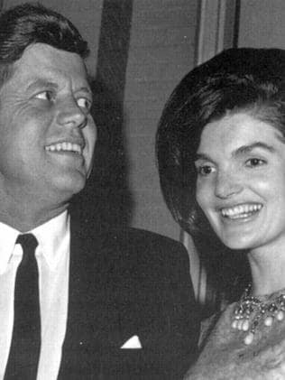 John and Jackie Kennedy had separate bedrooms at the White House. Picture: Supplied