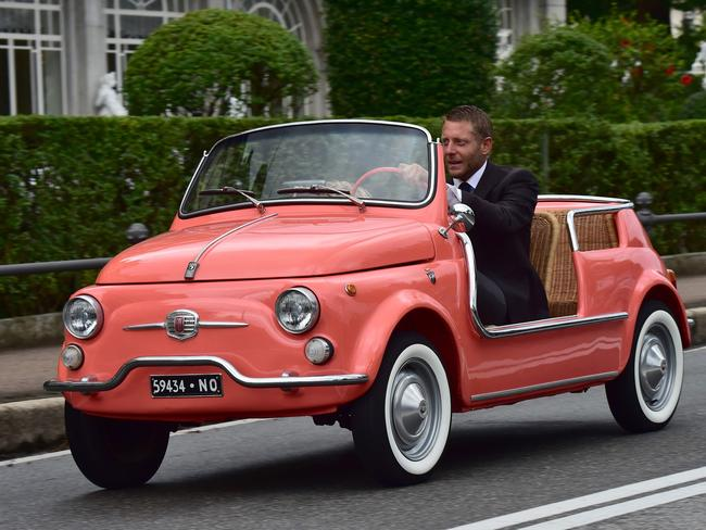 Fiat heir, Lapo Elkann Picture: Supplied.