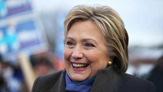Democratic presidential hopeful Hillary Clinton has copped a nasty blow in the New Hampshire primary. Picture: Justin Sullivan/Getty Images/AFP