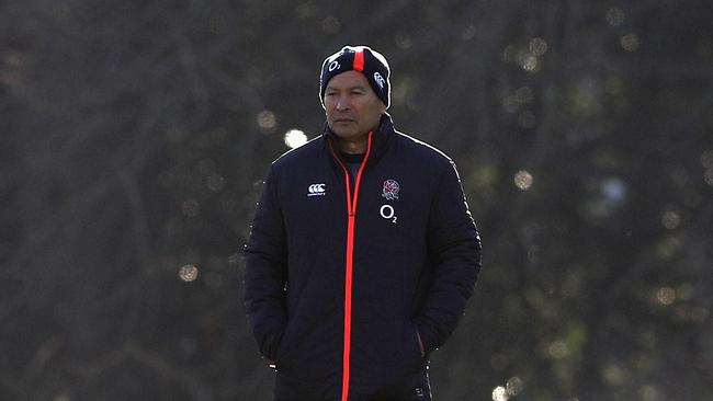 Eddie Jones has been engaged in a war of words with Michael Cheika since before the England tour of Australia earlier this year.
