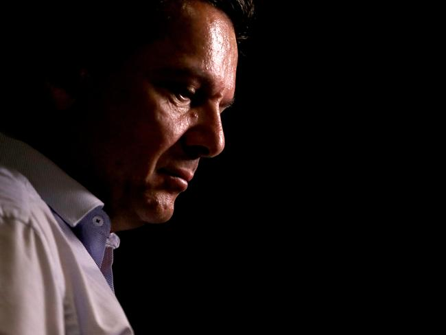 SA-BEST Leader Nick Xenophon was defeated in yesterday's election results. Picture: AAP Image/Kelly Barnes
