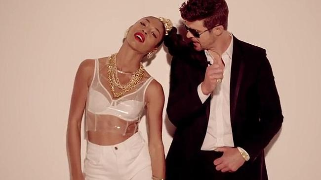 "Robin Thicke: ""I've been out-perved. To the Sleazemobile!"""