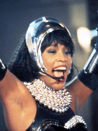 Whitney Houston in The Bodyguard.
