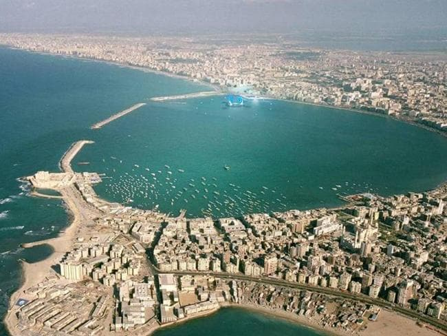 The underwater museum is planned for Alexandria. Picture: Rougerie/UNESCO