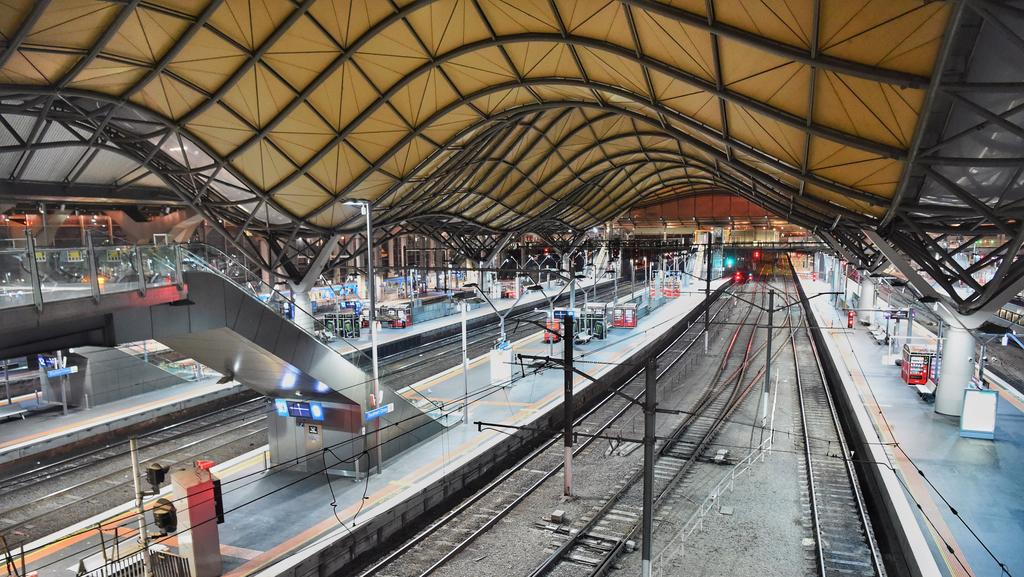 Southern Cross Station. Picture: File