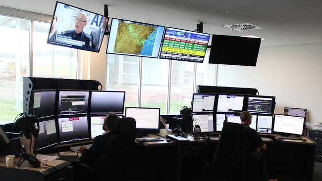 Inside the new control room at the Canberra Deep Space Communications Complex, operated by the CSIRO on behalf of NASA.