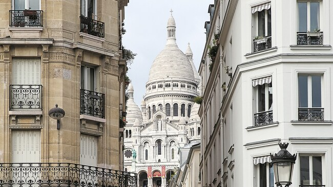 The view of Sacre Coeur in Paris. Photo: Alex Carroll/Supplied
