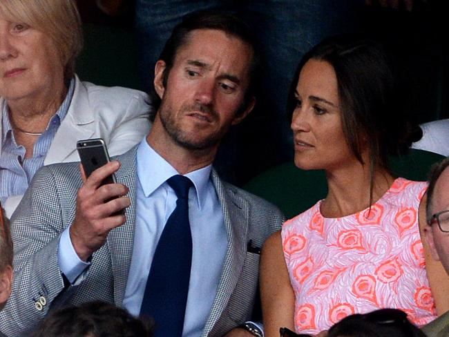 Pippa Middleton and James Matthews. Picture: Supplied.