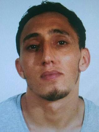 Moroccan Driss Oukabir is an alleged suspect linked to the attack of Barcelona on August 17, 2017. Picture: AFP.