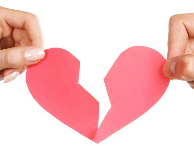 What becomes of the broken-hearted ... Researchers are starting to think broken-heart syndrome doesn't have as much to do with surging adrenaline as they initially believed. Picture: Supplied