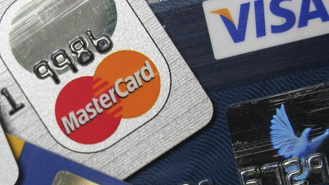 Credit cards are just so grown up when they're in your own name. Picture: AP