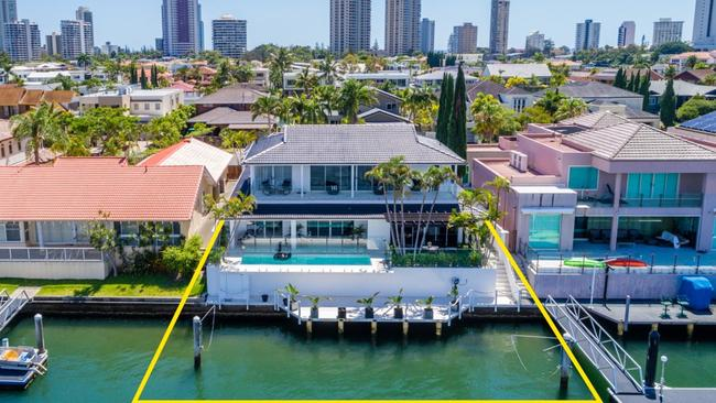 This house at 80 Admiralty Dr, Surfers Paradise, is going to auction on January 28 through Ray White. Source: Supplied