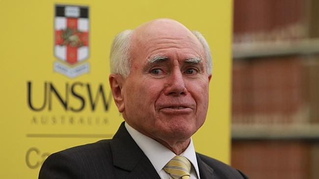 Not interested ... former PM John Howard says he would refuse a knighthood if it were offered.