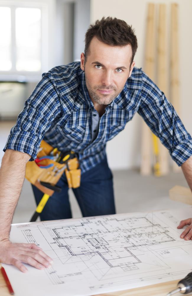 Check your tradesman's license before you let them get to work.