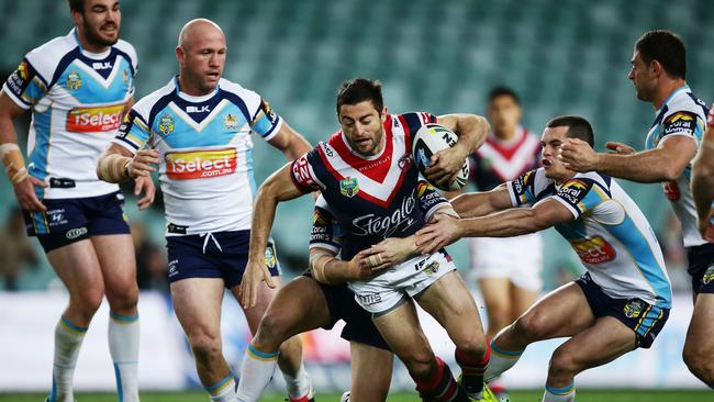 Anthony Minichiello opened the scoring for the Roosters.