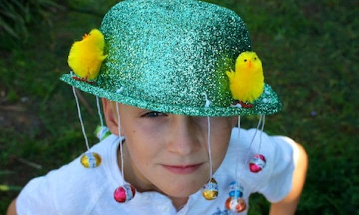 Make a jazzy Easter parade hat