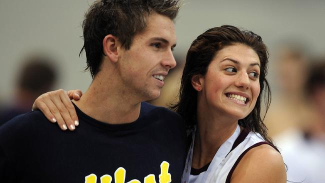 Sullivan and ex-girlfriend Stephanie Rice were the glamour couple of Australian swimming.