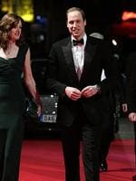 Prince William, Duke of Cambridge accompanied by Amanda Berry OBE, Chief Executive of Bafta arrives at the EE British Academy Film Awards 2014 at The Royal Opera House on February 16, 2014 in London, England. Picture: Getty