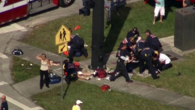 Dozens have been injured in the latest shooting to rock the US. Picture: Fox 13