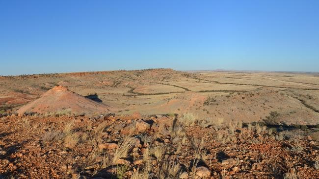 The view from Deon's Lookout on the road to Birdsville. Pic:: Neale Maynard