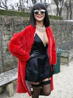 Check out which stars snapped up the hottest seats at Paris Fashion Week. From off to on the runway - we give you access to all the latest celebrity buzz! - Singer Rihanna poses as she arrives to attend Christian Dior fashion show. Picture: AFP