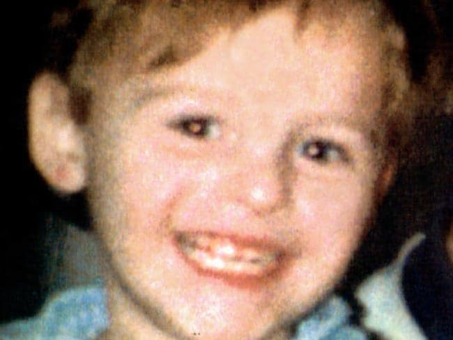 James Bulger was killed in 1992 after being lured from Liverpool shopping mall by Robert Thompson and Jon Venables. Picture: News Limited