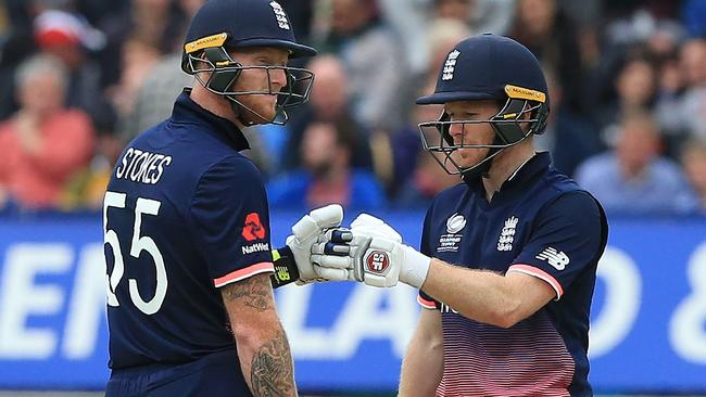 Eoin Morgan is in the dark over Ben Stokes' availability.