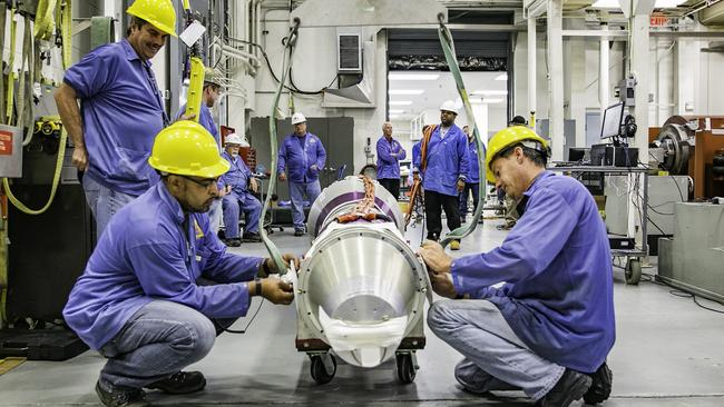 Sounding rockets being prepared for a launch vehicle. Picture: NASA SRPO.