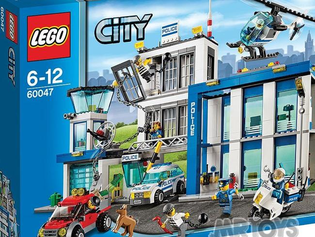 The Lego City police station.