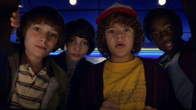Netflix will continue to focus on creating original content, such as sci-fi favourite Stranger Things