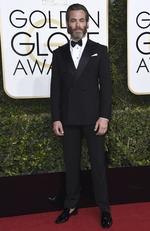 Chris Pine attends the 74th Annual Golden Globe Awards at The Beverly Hilton Hotel on January 8, 2017 in Beverly Hills, California. Picture: AP