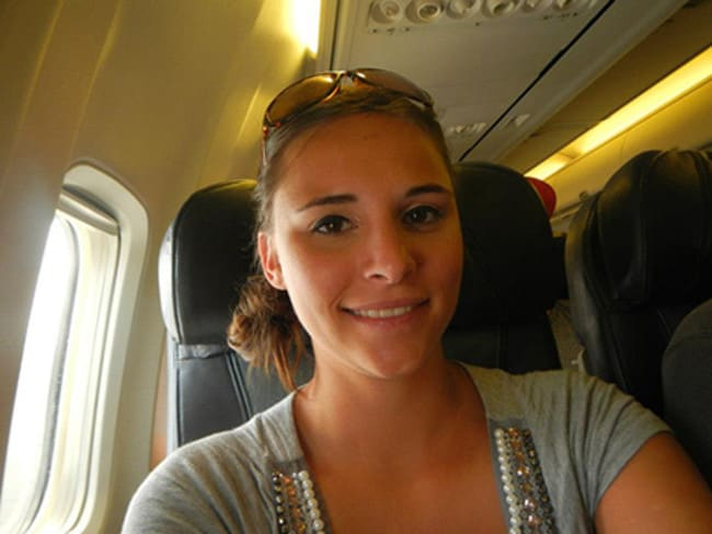 Pictured during a previous flight.