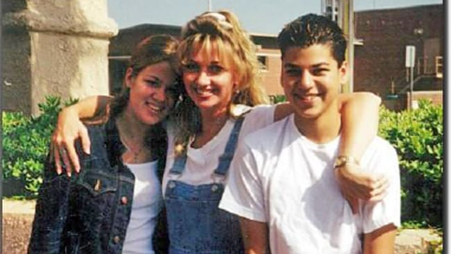 Pam with Kourteney and Rob Kardashian. Picture: Courtesy of Pam Behar