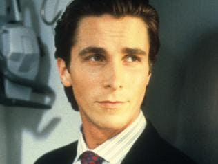 "Actor Christian Bale in scene from film ""American Psycho"". /Films/Titles/American/Psycho"