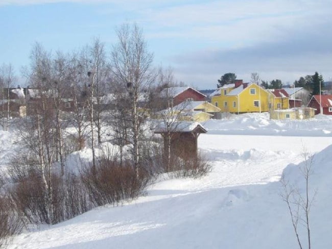 Karesuando, a town in Sweden near the Finland border. Picture: Flickr
