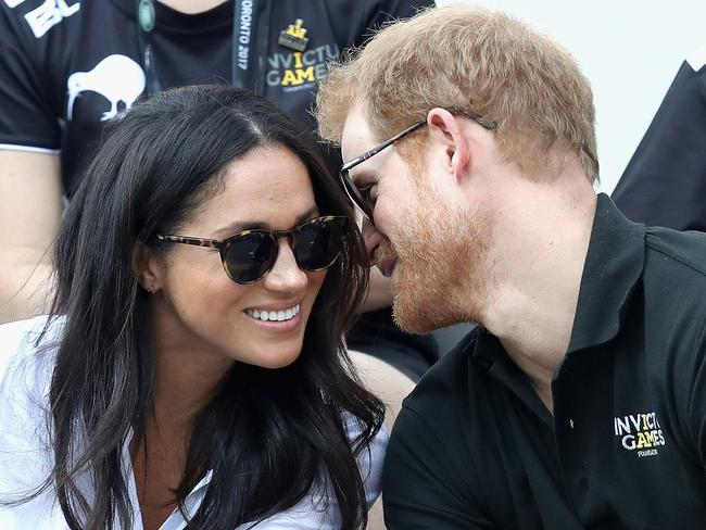 Prince Harry and Meghan Markle attend the Invictus Games 2017 in Toronto. Picture: Getty