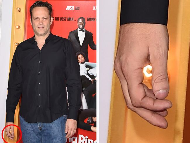 Vince Vaughn's thumbpeen. Picture: Getty Images