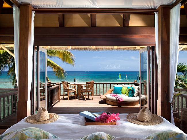 Branson's Necker Island resort is basically heaven on Earth. Picture: Virgin Limited Edition