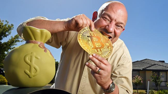 David Wolverton is selling a block of land in Port Lincoln by bitcoin. Picture: Tom Huntley