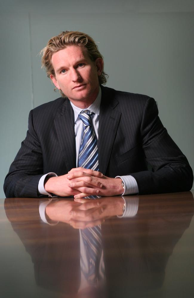 Before coaching, Essendon's James Hird ventured into the corporate world.