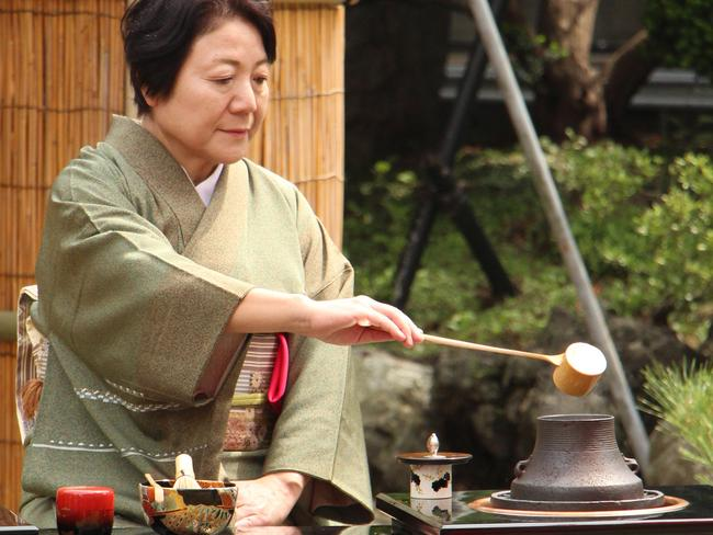 Giving yourself regular time-out to undertake activities like a tea ceremony can reduce stress increase your lifespan. Picture: Sarah Nicholson