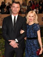 Liev Schreiber and Naomi Watts on the red carpet. Picture: Jason Merritt/Getty Images