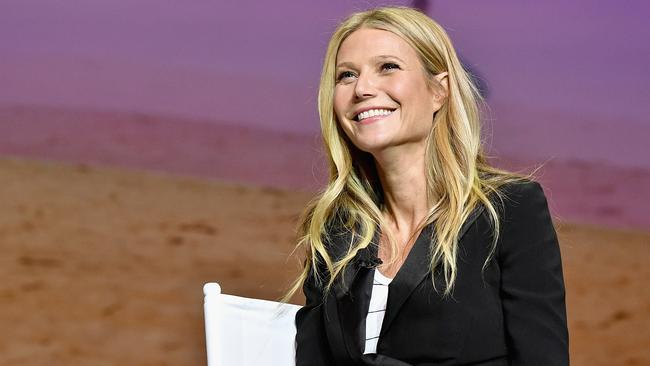 Actress and Founder of goop, Gwyneth Paltrow speaks onstage at Cultivating the Art of Taste & Style at the Los Angeles Theatre.