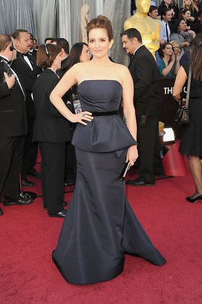 Actress Tina Fey arrives at the 84th Annual Academy Awards held on February 26, 2012. Picture: Jason Merritt/Getty Images