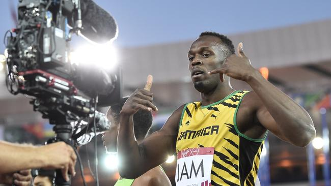 Jamaica's Usain Bolt has thrived in front of cameras.